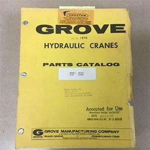Grove Rt75s Parts Manual Book Catalog Rough Terrain Crane