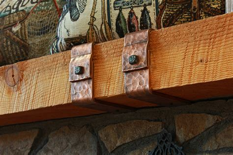 forged mantel straps ponderosa forge ironworks
