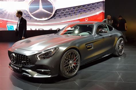 Mercedes-amg Gt Range Gets More Power And Four-wheel Steer