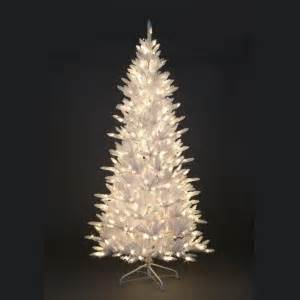 retro white tinsel pre lit christmas tree pre lit trees christmas trees