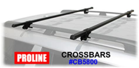 proline roof rack proline cb5800 roof rack railing cross bars