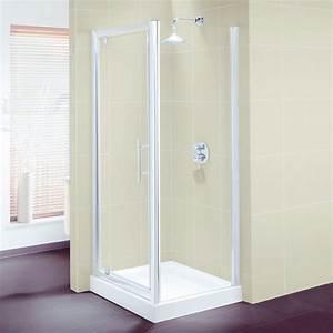paroi de douche antisalissure pour pose en niche ou en With pose porte de douche