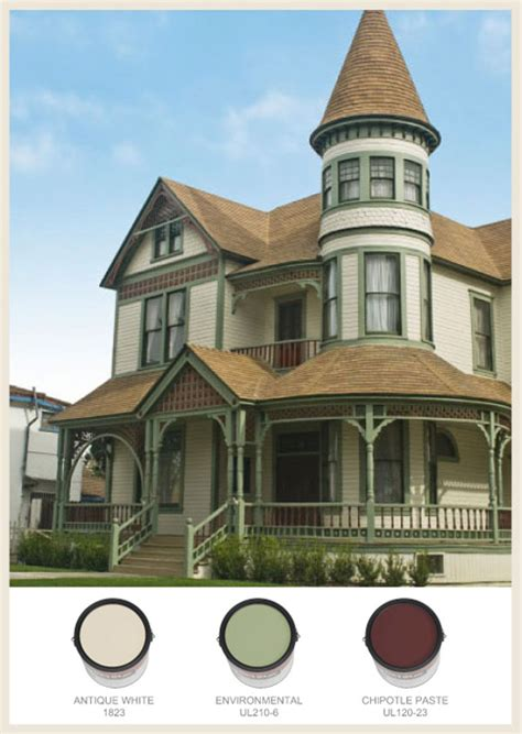 colorfully behr victorian exteriors
