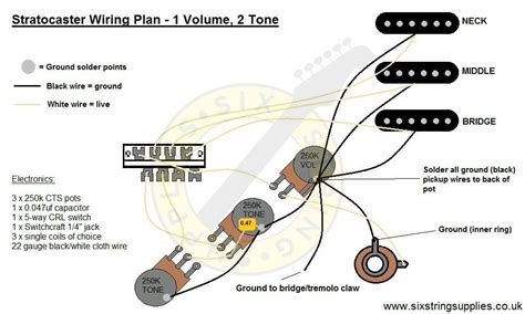 Strat Wiring Diagram Way Switch Electric Guitars