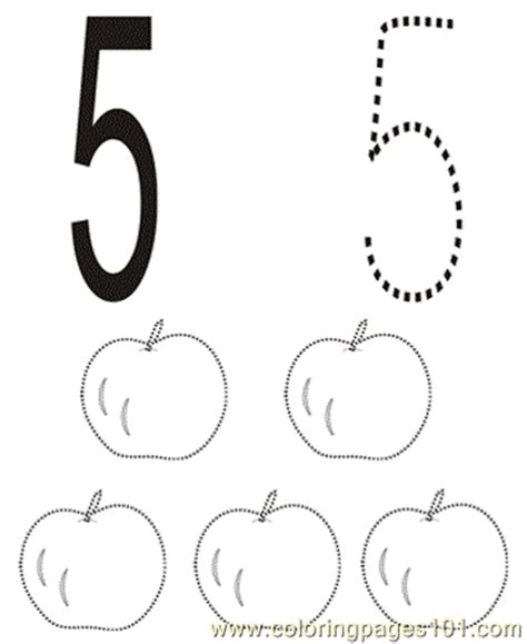 number  coloring pages   coloring page  numbers