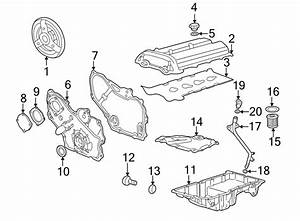 Chevrolet Cavalier Engine Valve Cover  Liter  Sedan