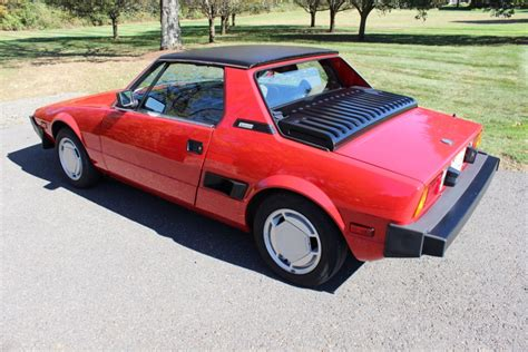 Fiat Bertone by No Reserve 34k Mile 1986 Fiat Bertone X1 9 For Sale On