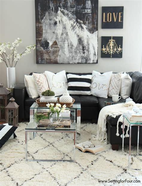 black  white living room ideas decoholic
