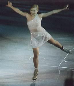 Oksana Baiul figure skating photos by Tracy Marks