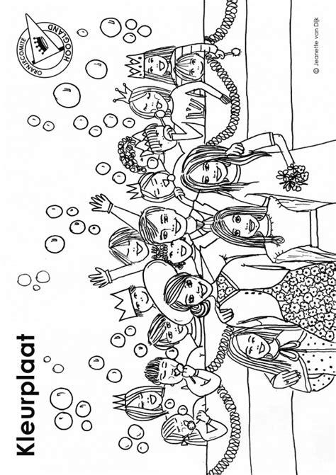Koningsdag Kleurplaat by Koningsdag Kroon Kleurplaat Kleurplaat Koningsdag
