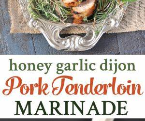 Honey Marinated Pork Tenderloin