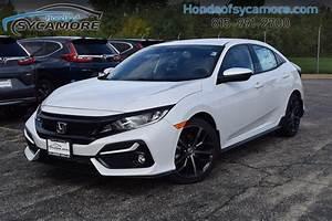Honda Civic 2020 White Sport