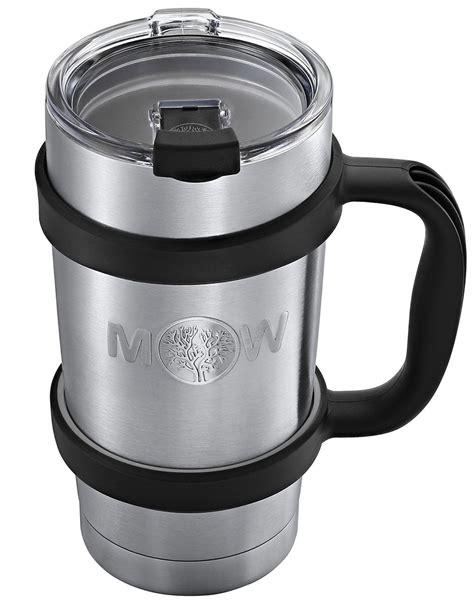 The 10 best coffee thermoses in 2021. Insulated Tumbler Cup Travel Mug - Premium 20 ounces Set w/ Handle and Leak Proof Lid - Vacuum ...