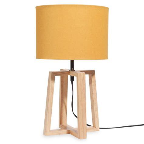 chambre bébé garçon ikea le en bois avec abat jour jaune h 44 cm hedmark