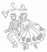 Embroidery Square Dance Patterns Designs Flickr Hand Ab Dancing Cross Coloring Stitch Line Pages Transfers Pattern Applique Fabric Dancers Mmaammbr sketch template