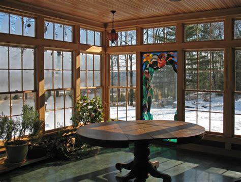 sunporch traditional porch burlington  bluetime