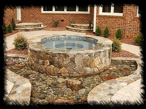 custom concrete spas aquatic creations