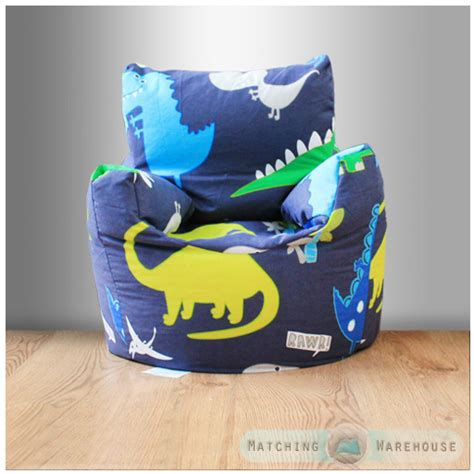 childrens character filled beanbag bean bag chair seat bedroom play tv room ebay