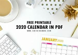 Printable Calendar November 2020 2020 Calendar Printable Pdf In Beautiful Gold Theme