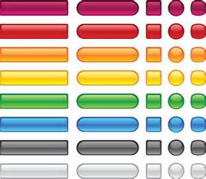 buttons design set of web glass buttons mix vector 04 vector web design free