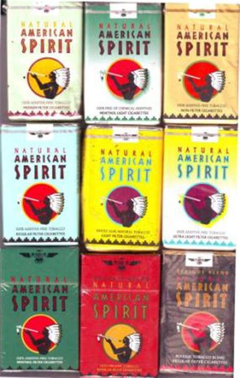 american spirit flavors colors ajalon