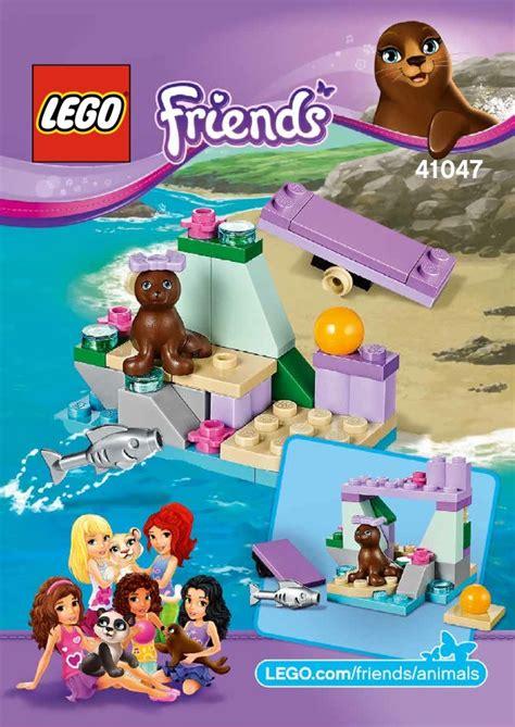 LEGO Seal's Little Rock Instructions 41047, Friends