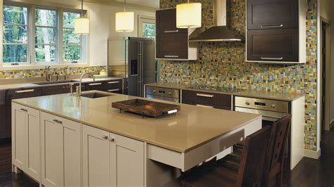 quarter sawn kitchen cabinets quartersawn oak cabinets with painted kitchen island omega
