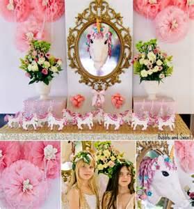 Girls Unicorn Birthday Party