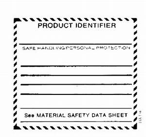 whmis supplier label With whmis labels template