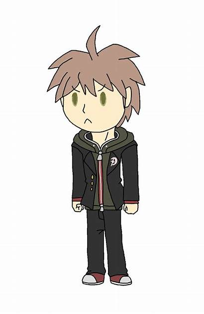 Makoto Naegi Chibi Animation Huntress Test Wildcat
