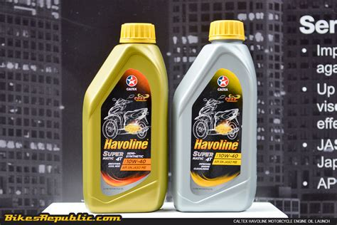 Caltex Launches New Line Of Havoline Motorcycle Lubricants