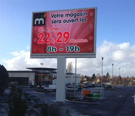 panneau d affichage ext 233 rieur led