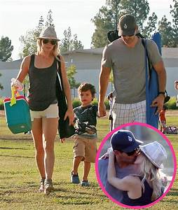 Pictures of LeAnn Rimes and Eddie Cibrian Kissing at Kid's ...