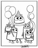 Storybots Coloring Birthday Songs Super Dirty Stinky Beep Printable Kolorowanki Activities Dzieci Dla Party Films Nimmerland Malvorlagen Jake Coloringonly Activity sketch template