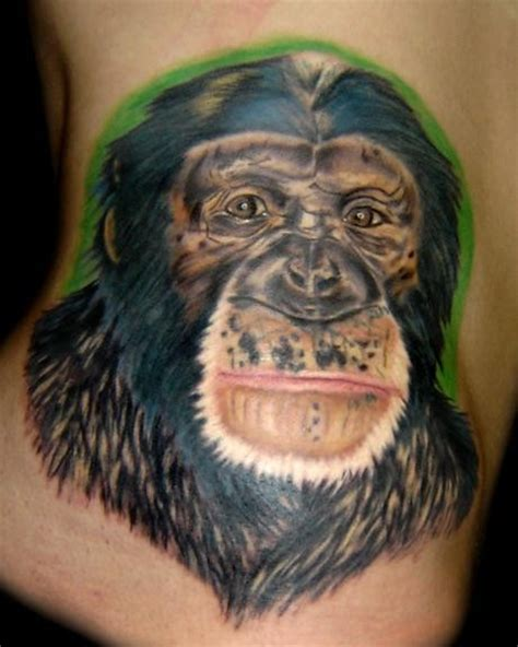 tattoo inspiration chimpanzee tattoo uploaded  mmstar
