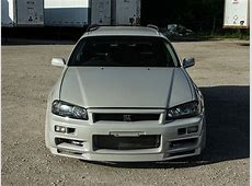 Nissan R34 GTR Wagon front end top view NO Car NO Fun