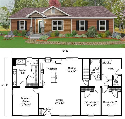 popular plans  bedroom house plan house blueprints open house plans
