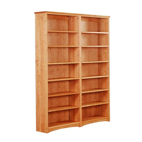 solid oak bookcases in seven sizes solid wood bookcases scott jordan furniture wood bookcase