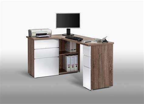 but bureau informatique bureau informatique d 39 angle contemporain avec rangement