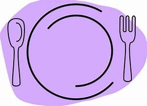 Violet Plate Clip Art at Clker.com - vector clip art ...