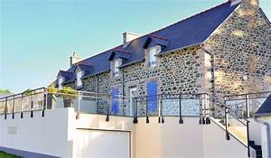 Garde De Corps Terrasse : garde corps aluminium sur terrasse ~ Melissatoandfro.com Idées de Décoration