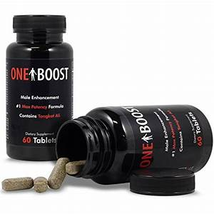 2  Bottles One Boost Testosterone Booster Pills For Men  Tongkat Ali Supplements Proven To