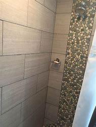 White Pebble Shower Floor Tile