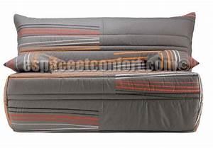 Housse De Bz : pack de rhabillage pour banquette bz en 140 cm tissu gris line 990 ~ Teatrodelosmanantiales.com Idées de Décoration