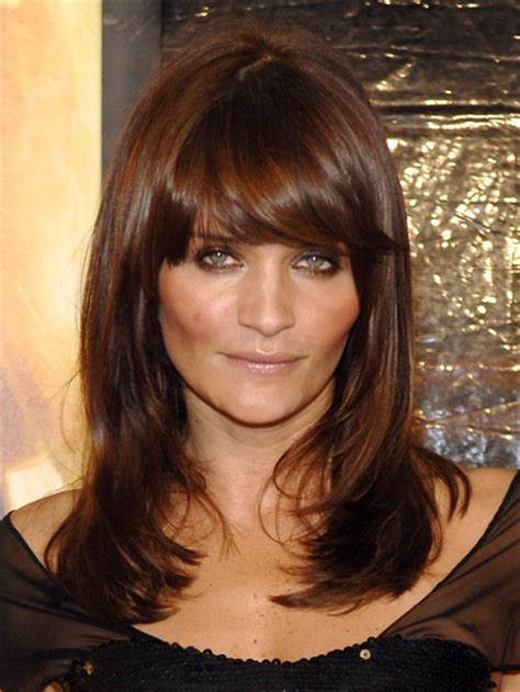 warm brown hair color and elegance june 2012