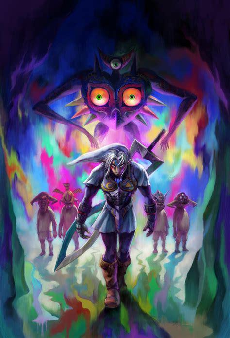 Fierce Deity Link From The Legend Of Zelda Series