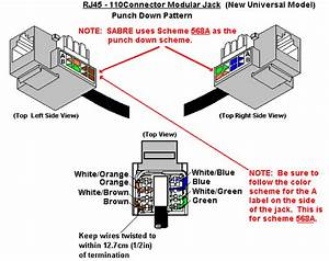 Telephone Jack Rj 45 Wiring Diagram