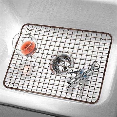 kitchen sink protector grid interdesign kitchen sink protector grid mat large 5911