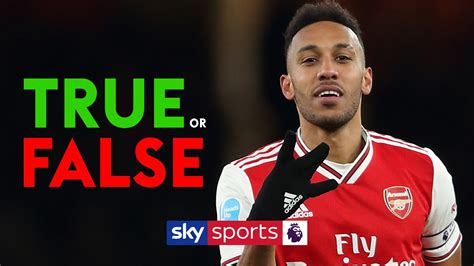 Spurs are better than Arsenal?! | TRUE or FALSE with ...
