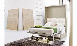 Lit Armoire Canapé : l armoire lit en 10 questions celyne perret blog la maison du convertible ~ Teatrodelosmanantiales.com Idées de Décoration